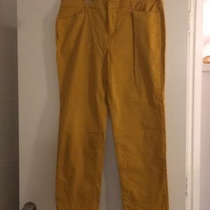 Talbots Signature Stretch Straight Leg Jeans Sz 16